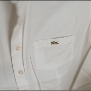 Lacoste button down shirts